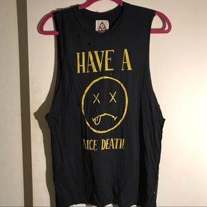 UNIF Have A Nice Death Tank Muscle Tee